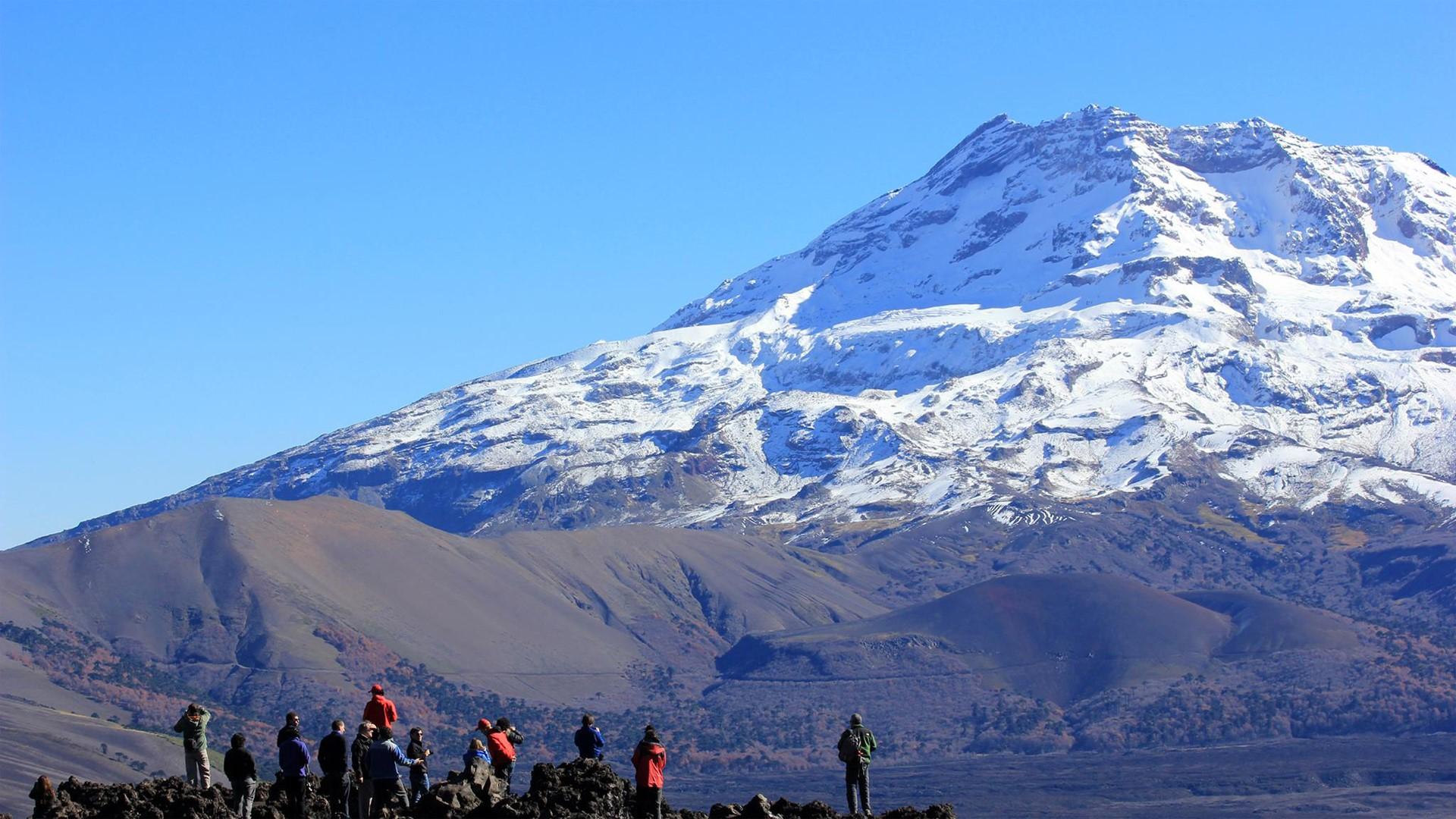Ancien glacier en Patagonie chilienne