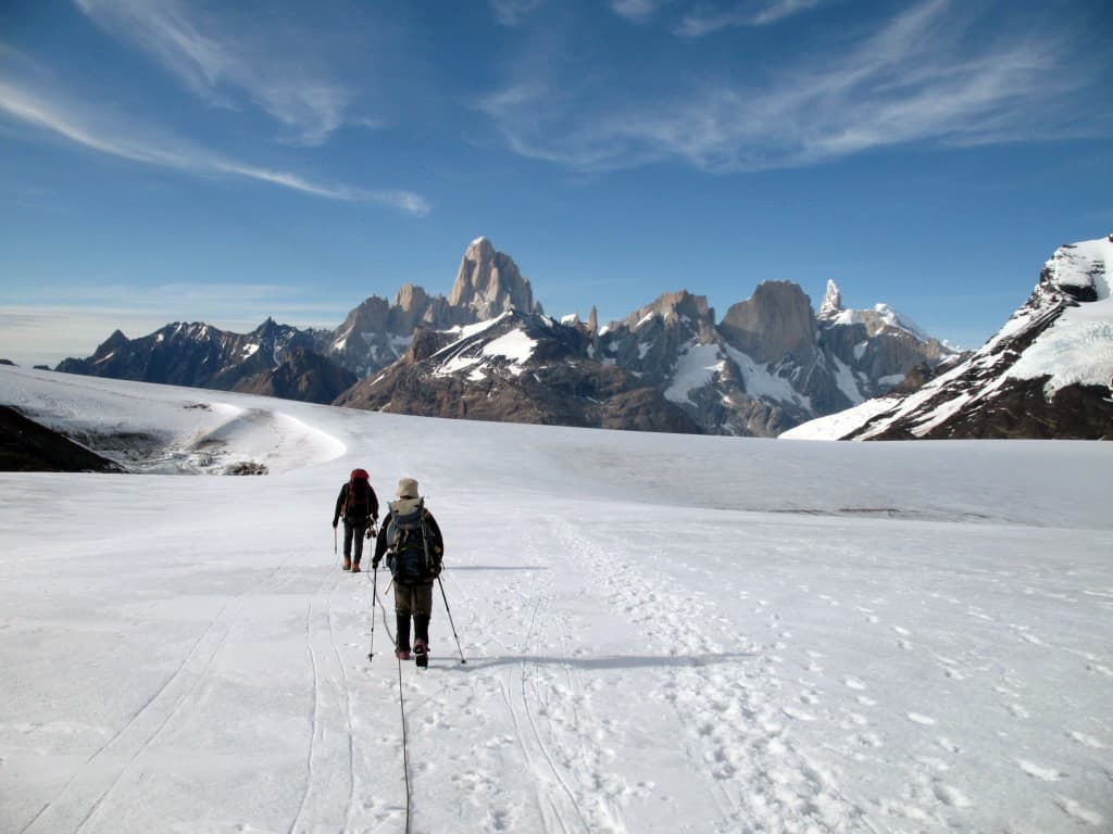 Andinisme sur le Glacier Marconi à El Chalten
