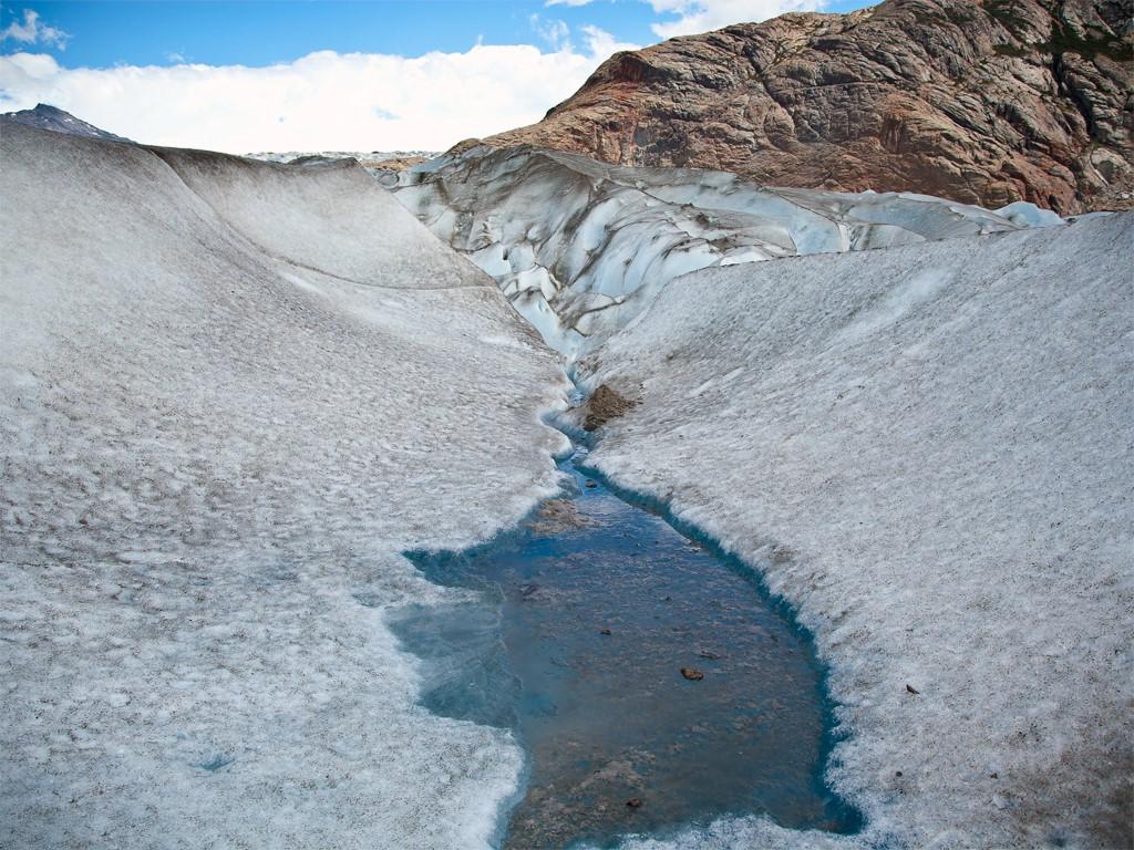 Lagunes du Glacier Viedma à El Chaltén