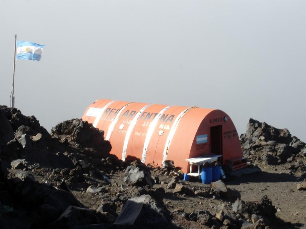 Refuge RIM du volcan Lanin