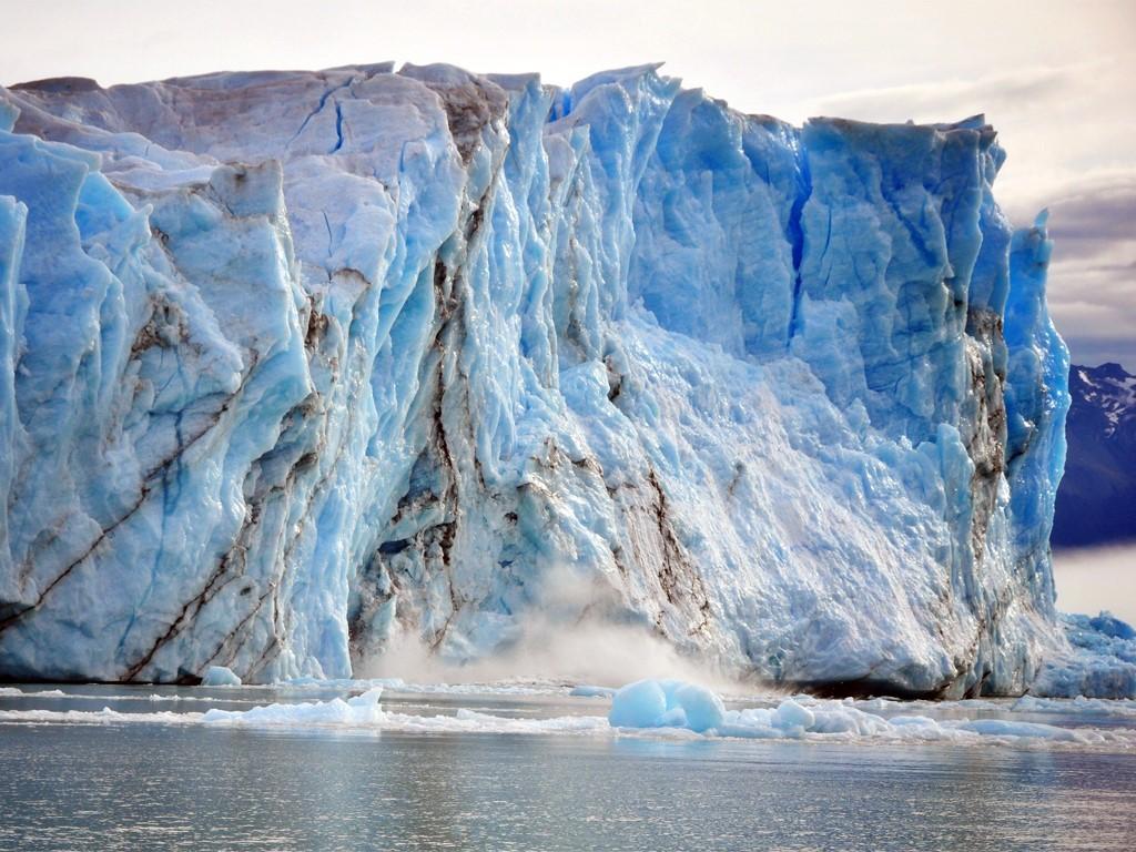 Les parois du glacier Perito Moreno