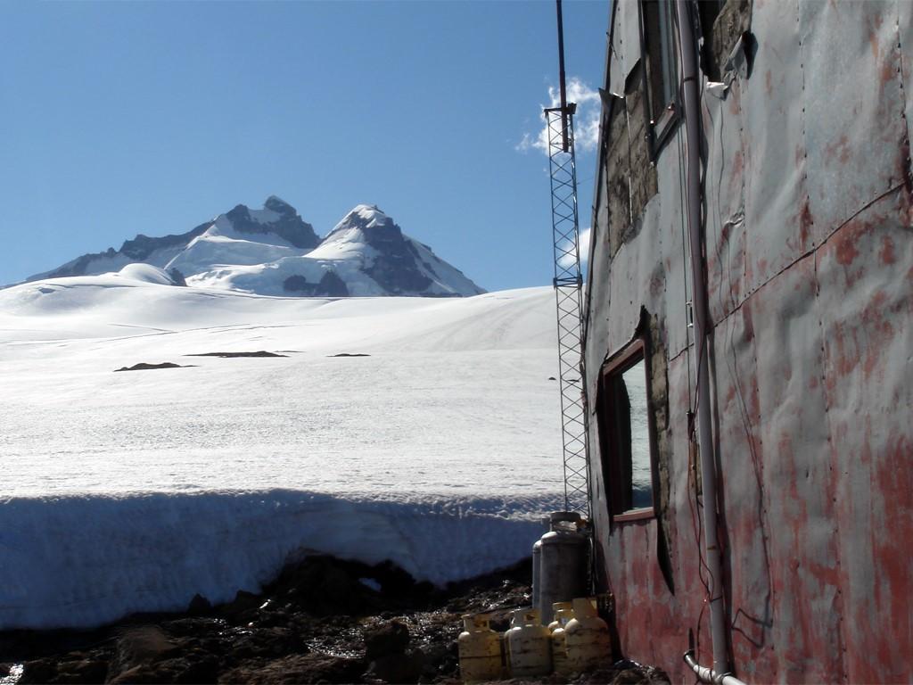 Refuge Meiling, point de départ pour le Pico Argentino