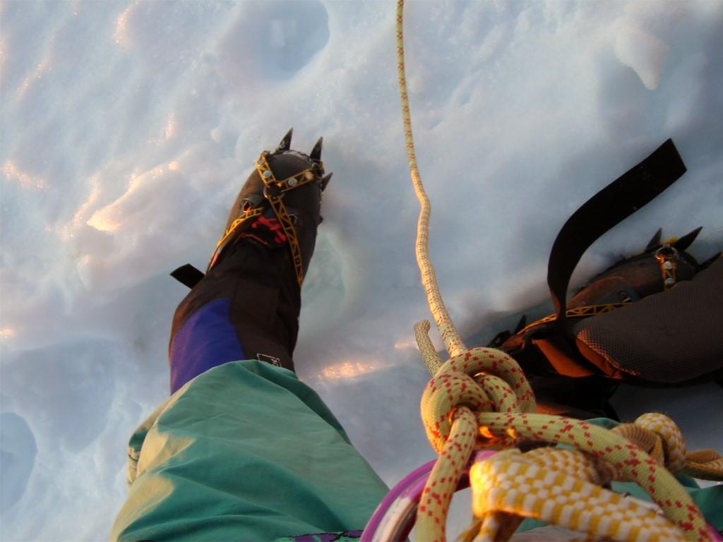 Équipement d'alpinisme pour le Tronador