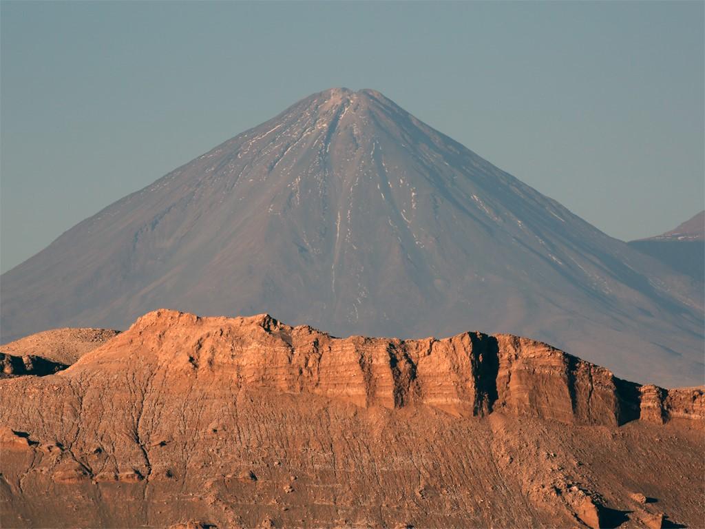 Volcan Licancabur au Chili