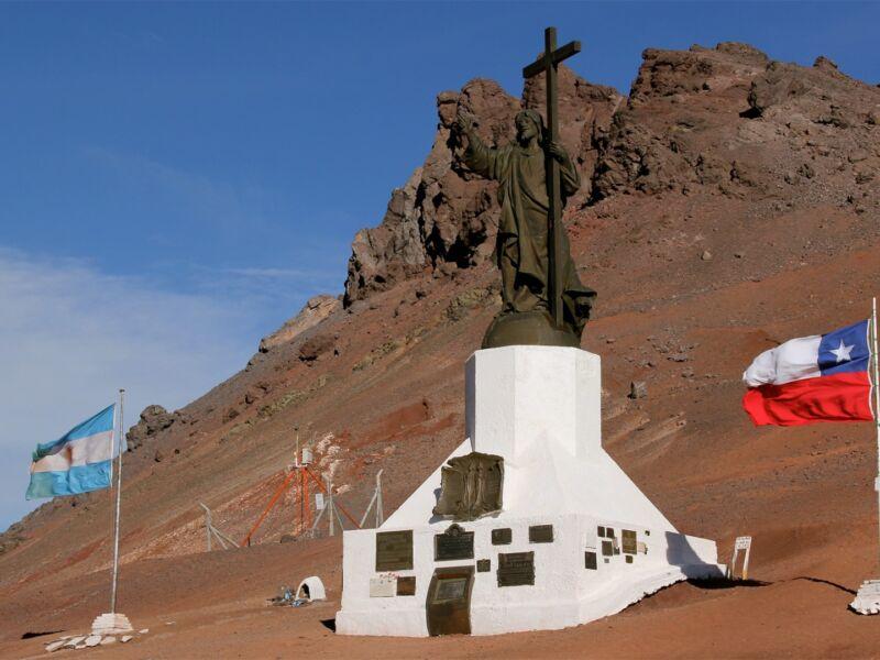 Frontière Argentine Chili