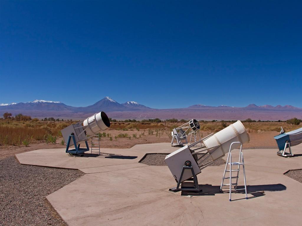 Astronomie à San Pedro de Atacama Chili
