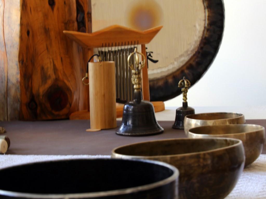 Bains de gongs en Patagonie