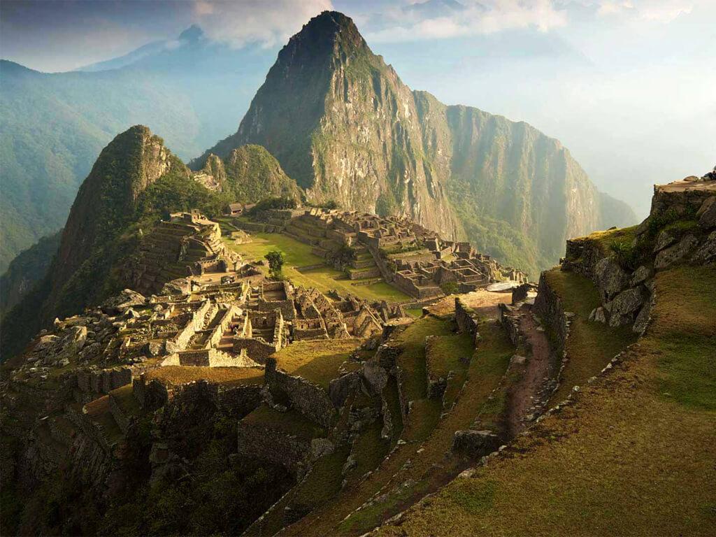 Esta búsqueda comenzó en el Machu Picchu para Boris