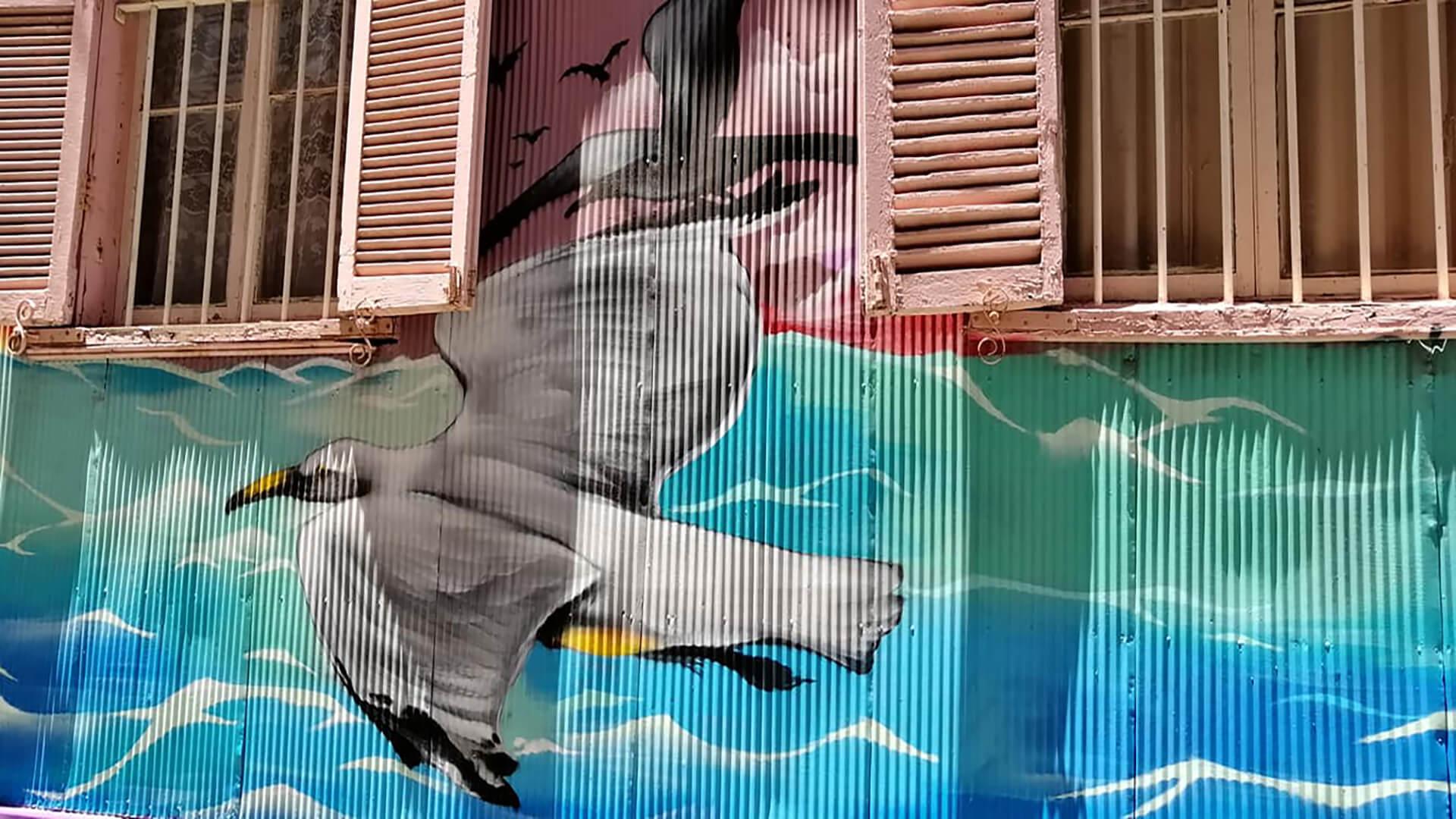 Coloridas calles de Valparaíso