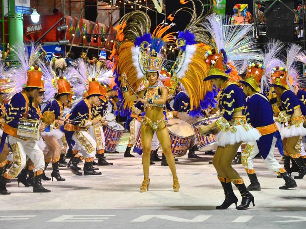 Défilé du carnaval de Gualeguaychu en Argentine