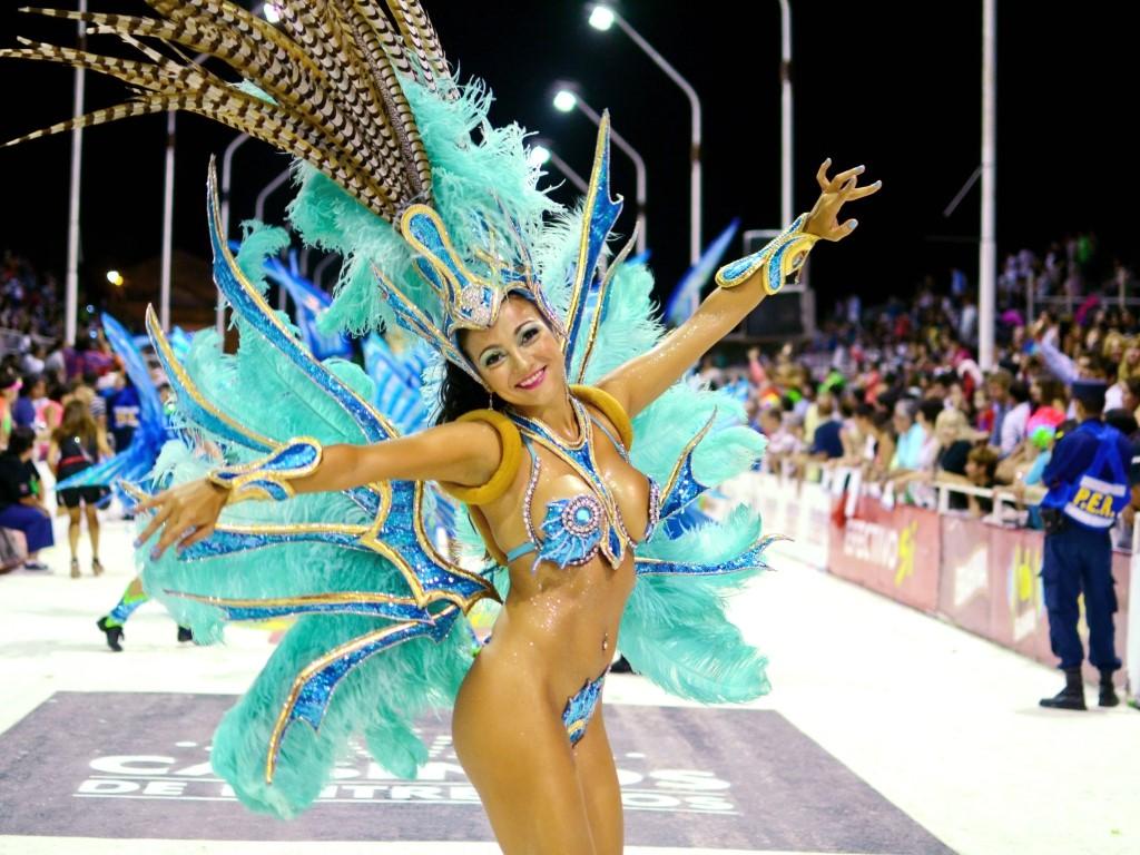 Carnaval de Gualeguyachu en Argentine