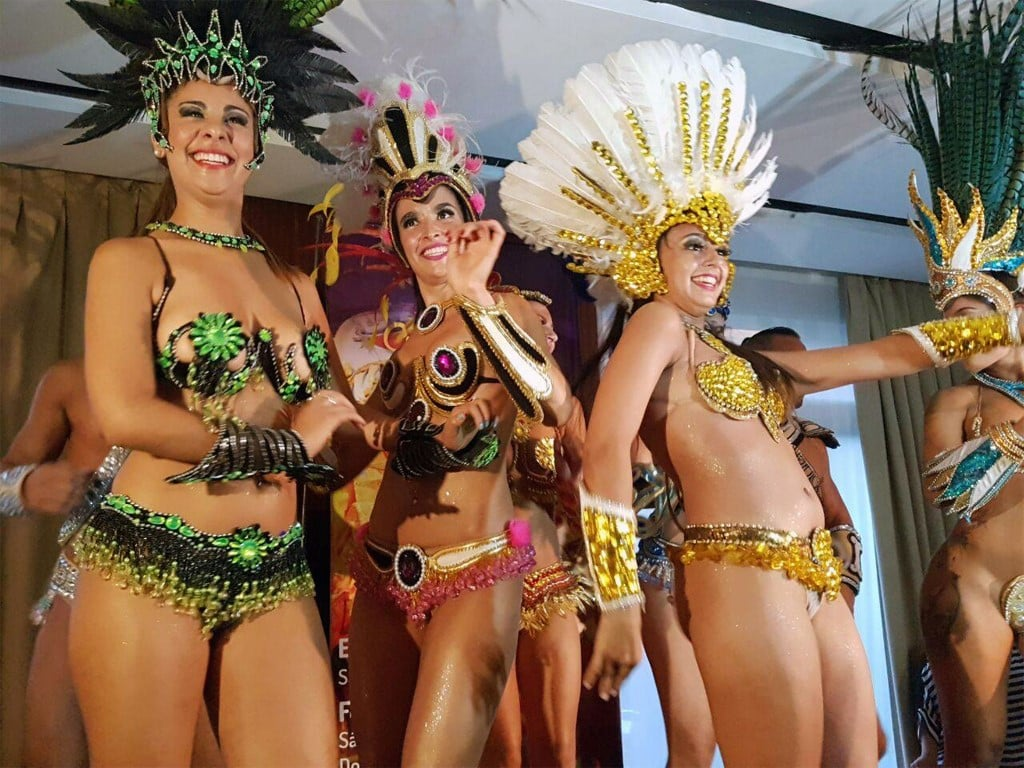 Carnavals traditionnels en Argentine, comme celui de Gualeguyachu