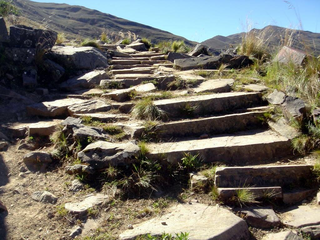 Chemin de l'Inca Santa Ana Valle Colorado