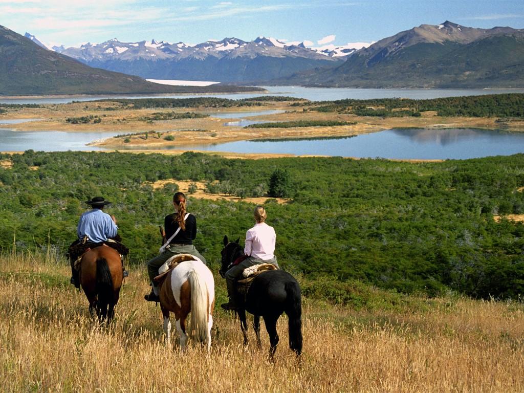 Paseos a caballo en El Calafate