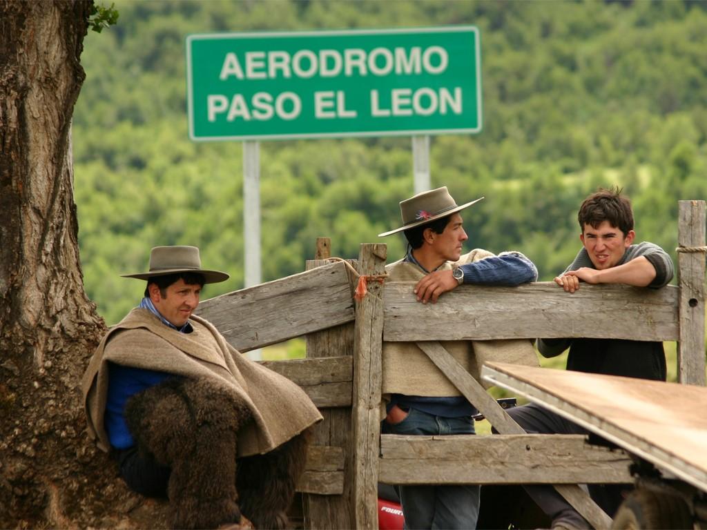 Estancia en Río Manso cerca de Bariloche en Patagonia argentina
