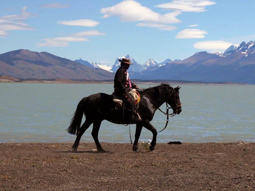Gaucho de la Estancia Río Mitre, Patagonia argentina