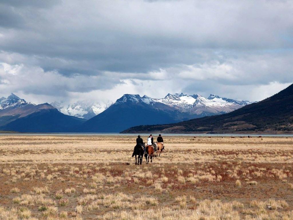 Paseos a caballo en la Patagonia austral