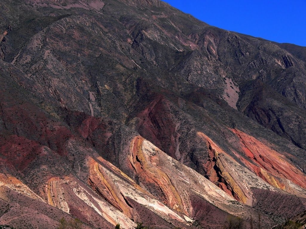 Colline des 7 couleurs à Purmamarca en Argentine