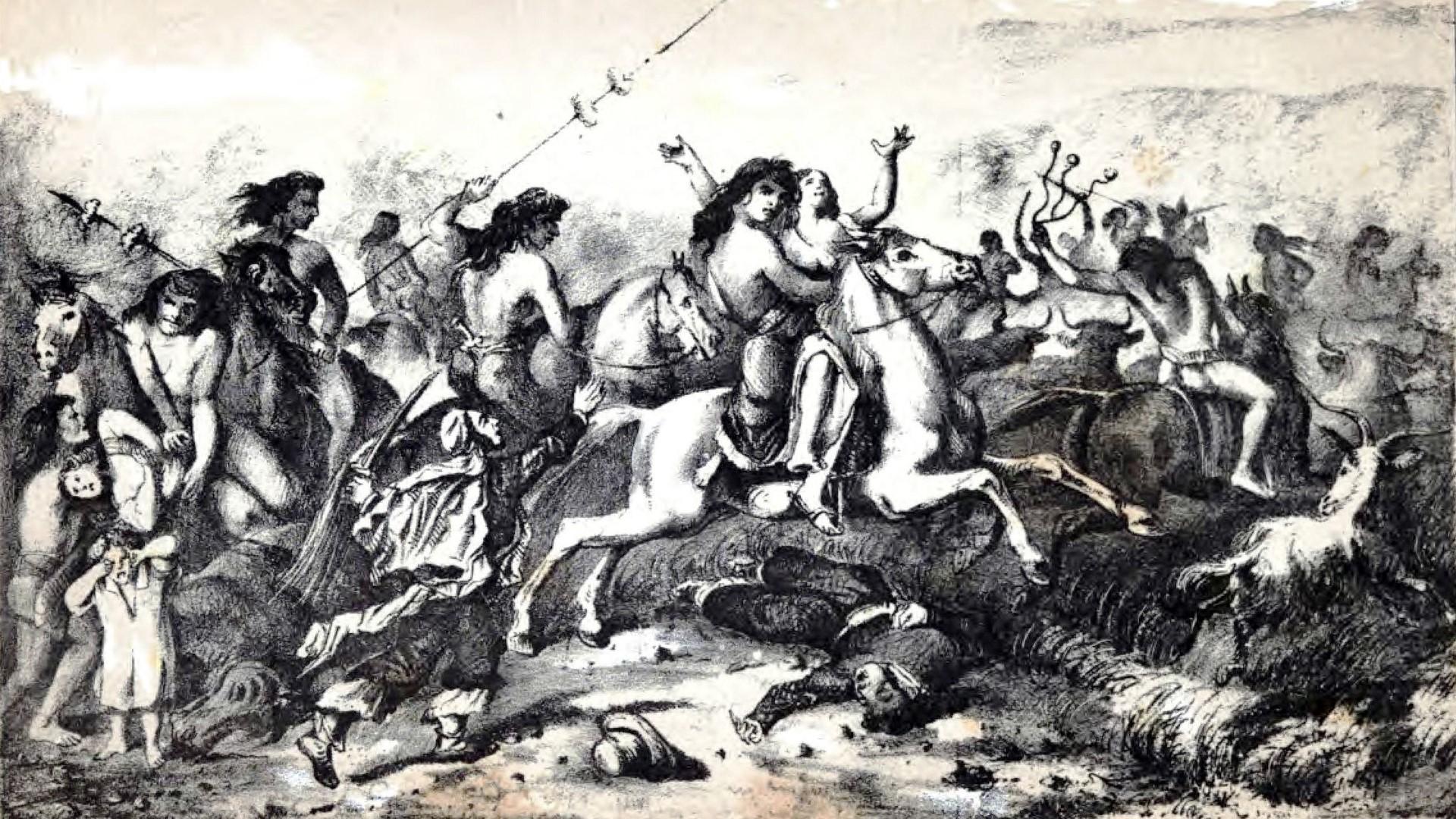 Guerre de conquête contre les Indiens Mapuches et Patagons