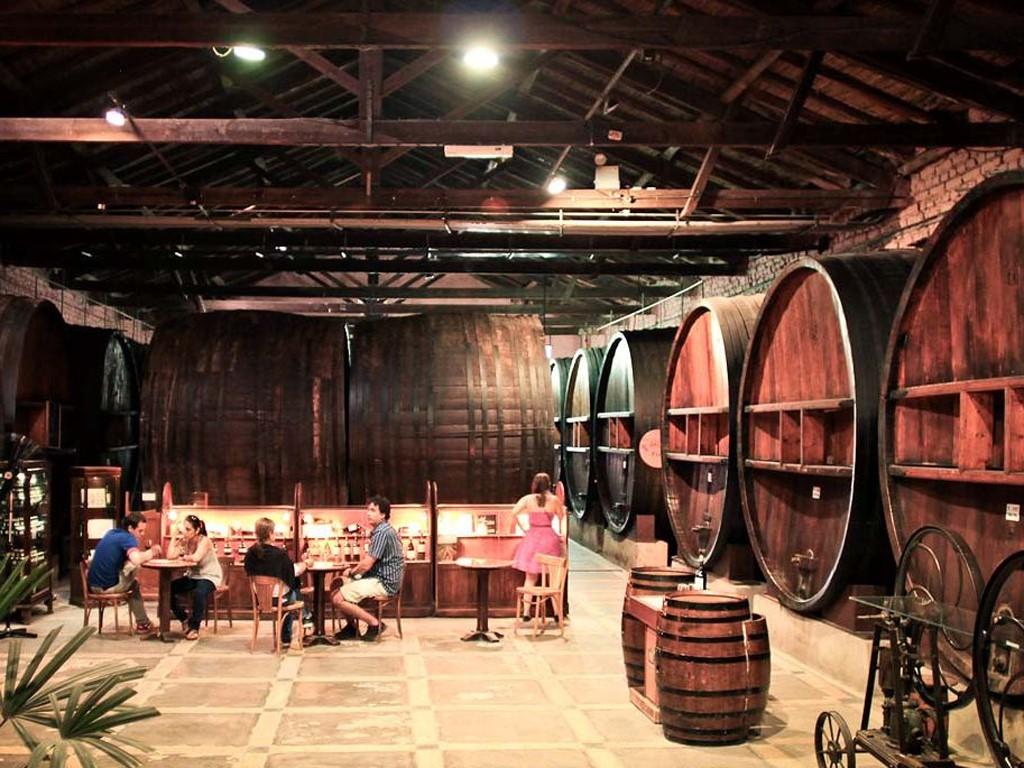 Visita de las bodegas de vino de Mendoza en Argentina