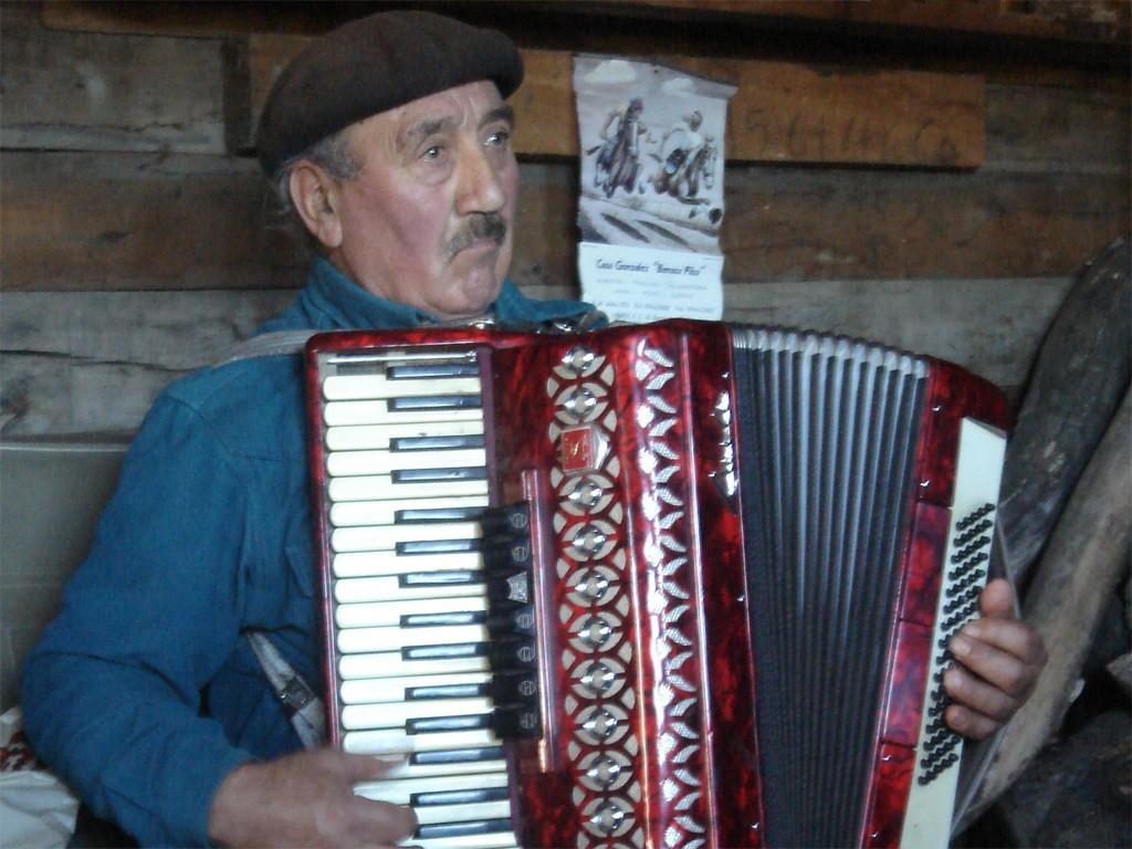 Vieux gaucho de Patagonie