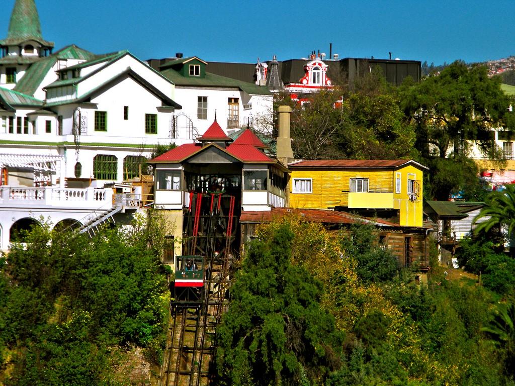 Funiculaire El Peral à Valparaiso