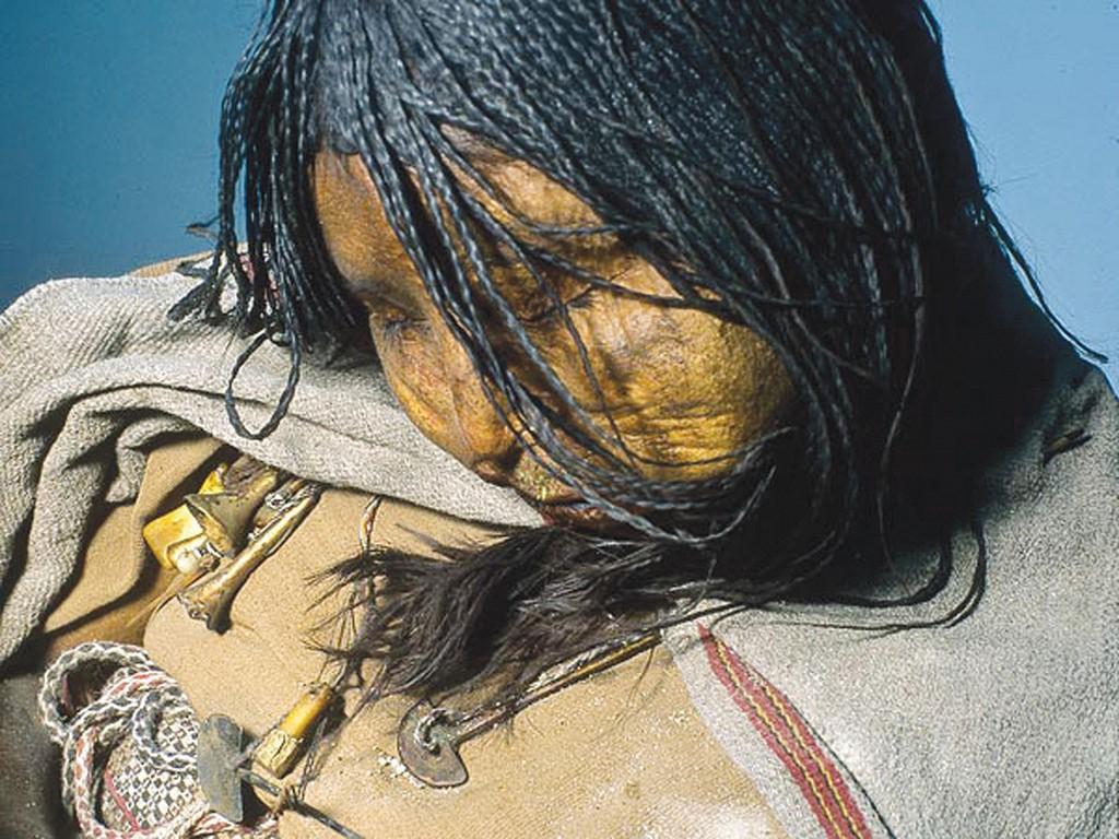 Enfants Incas momifiés du Llullaillaco