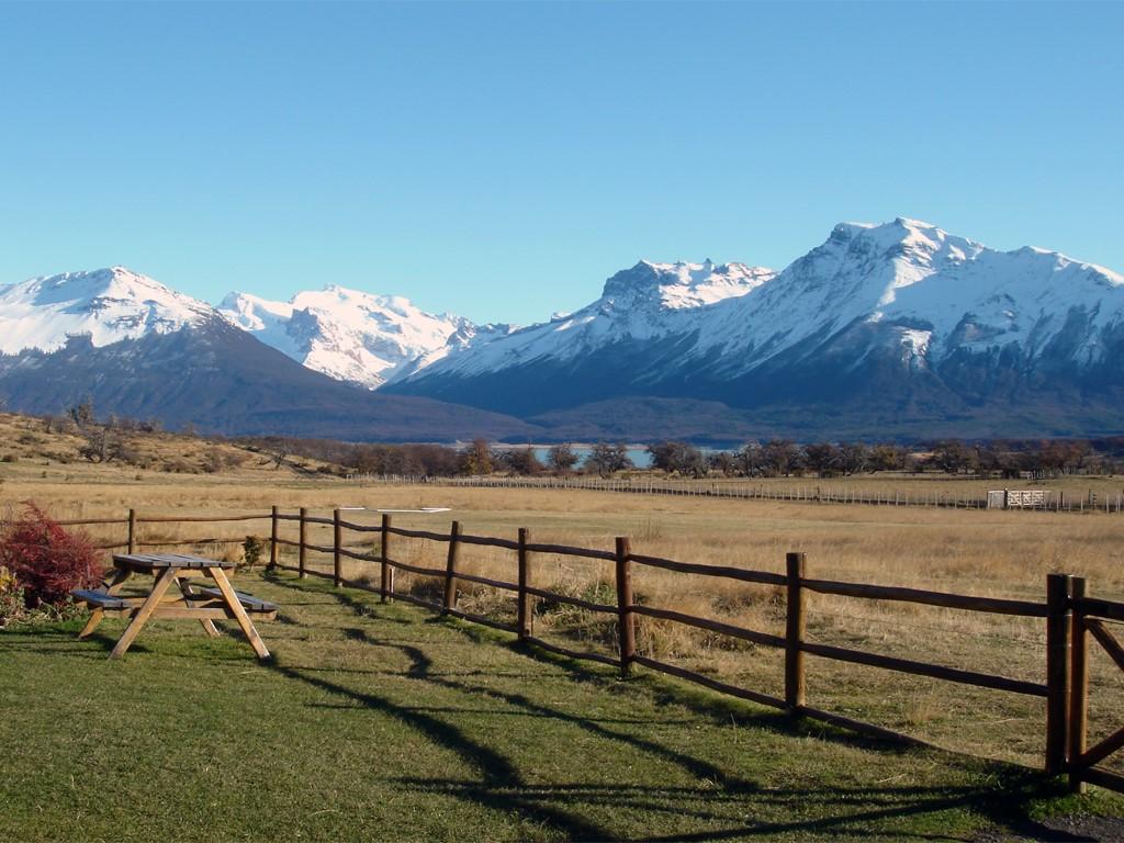 Descanso en una Estancia en la Patagonia
