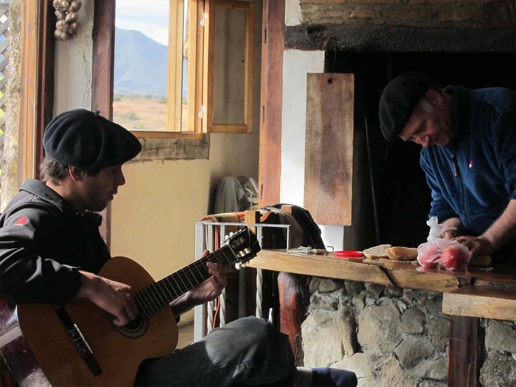 Estancia en la Patagonia austral