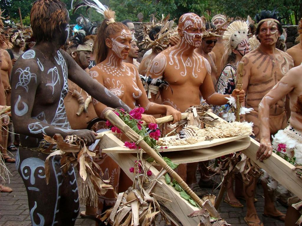Festival Tapati sur l'Ile de Pâques