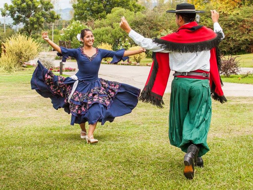 Danse de la Chacarera lors de défilé de gauchos