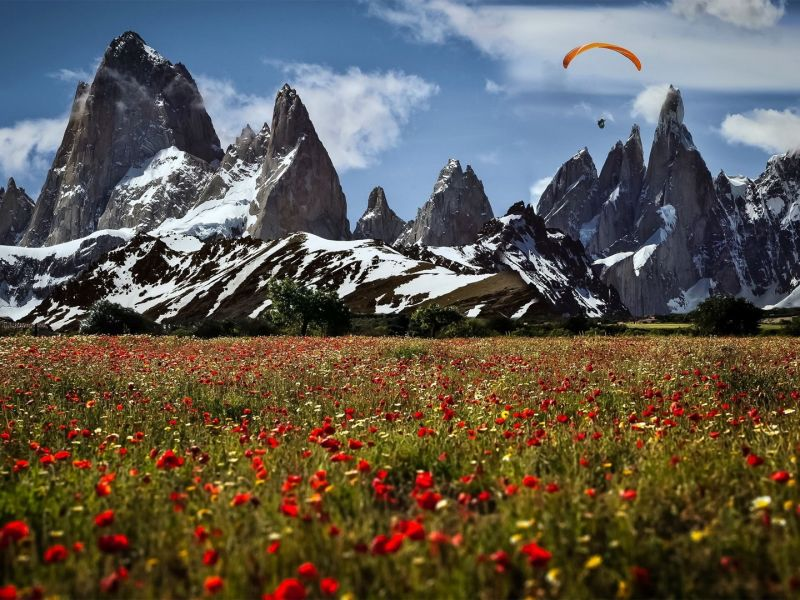 La Patagonia legendaria país de viento