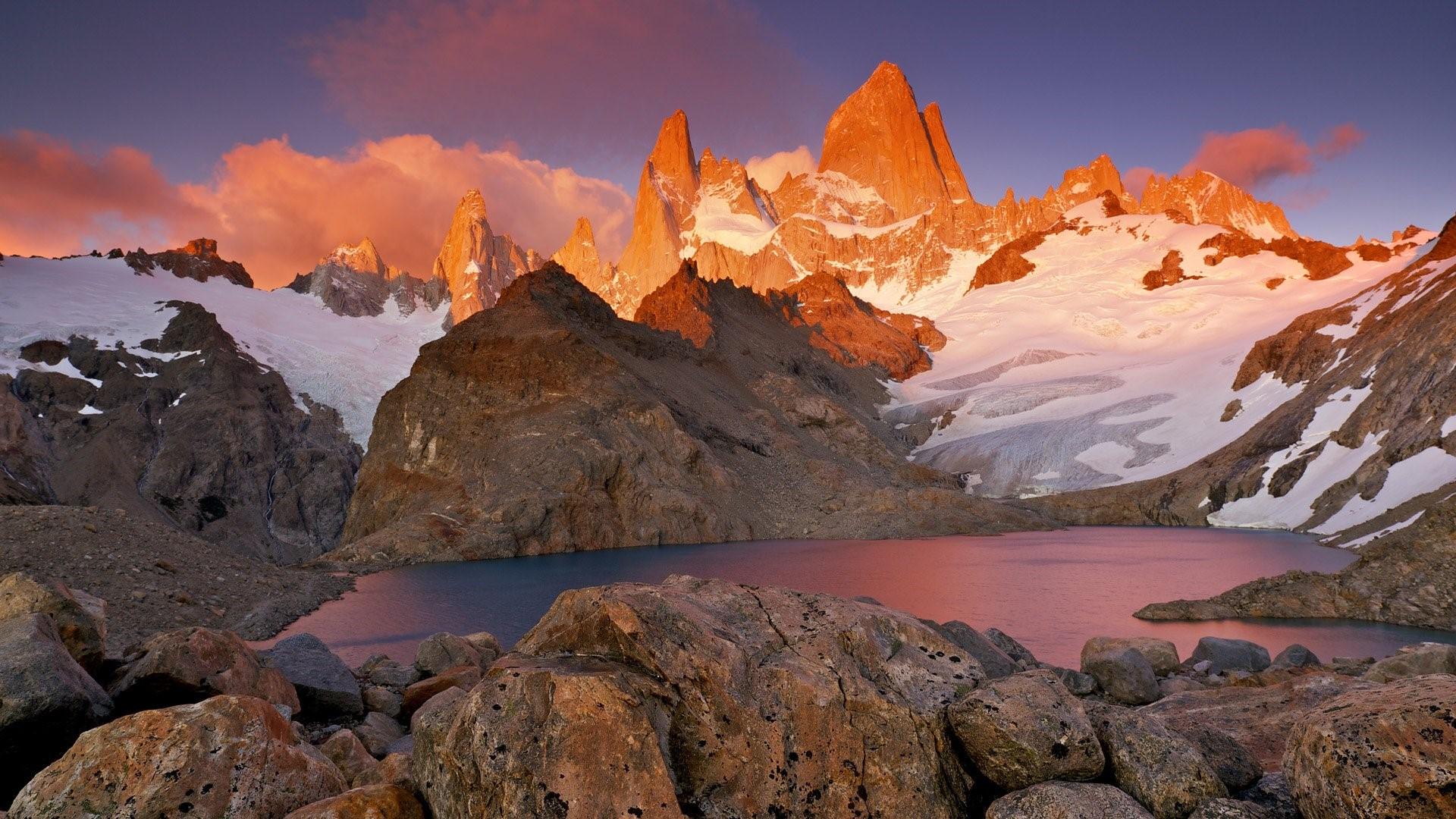 Massif du Fitz Roy en Argentine
