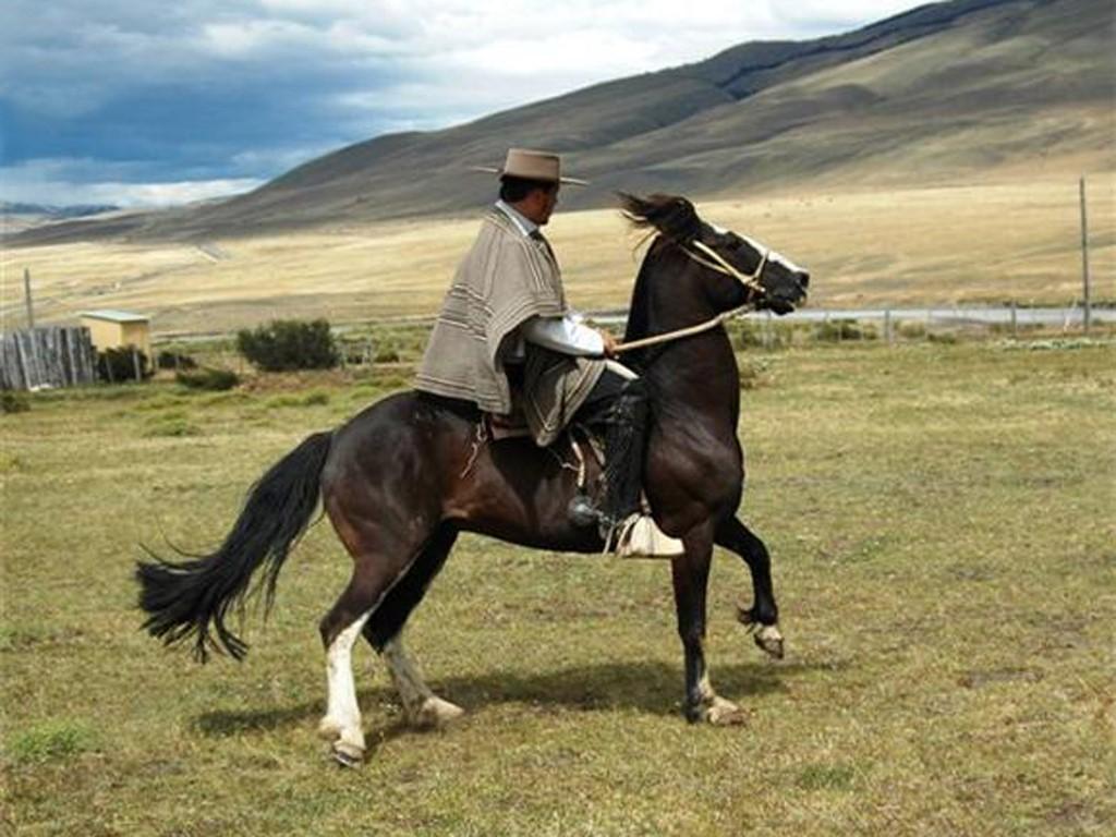Gaucho de Puerto Natales en Chile