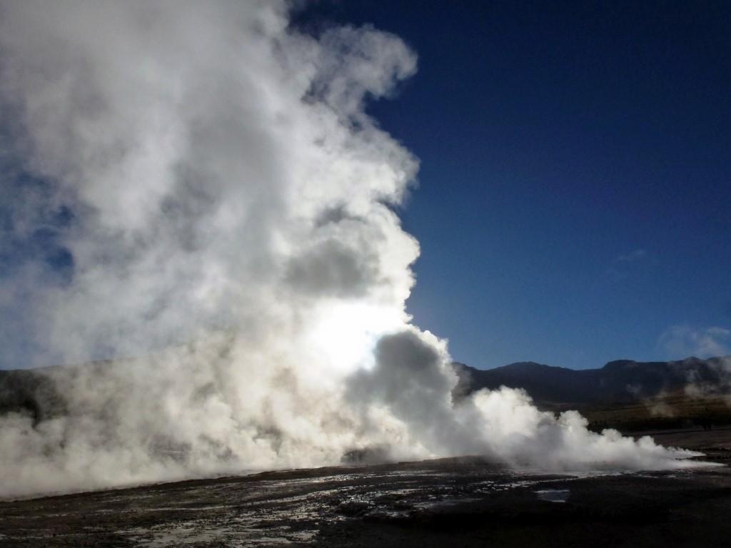 Geysers d'Atacama au Chili
