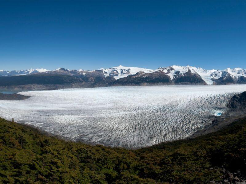 Un Roman inspiré du Glacier Grey en Patagonie