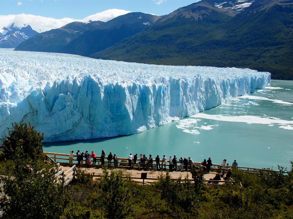 Vue panoramique sur le Glacier Perito Moreno