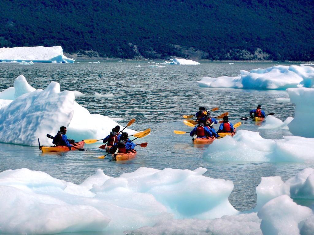Sorties en kayak à Torres del Paine au Chili