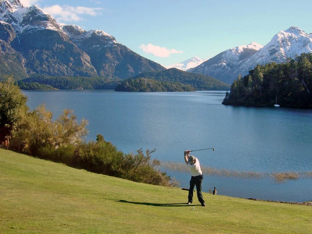 Golf de 18 hoyos Arelauquen, Patagonia argentina