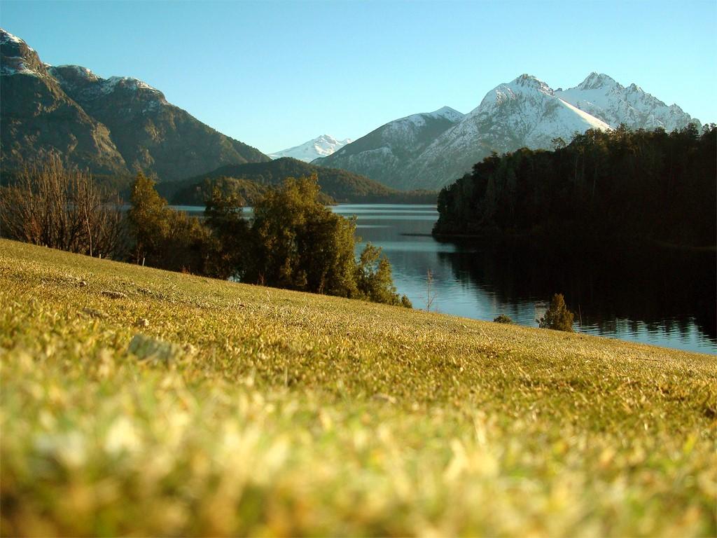 Campo de golf Llao Llao en Patagonia argentina