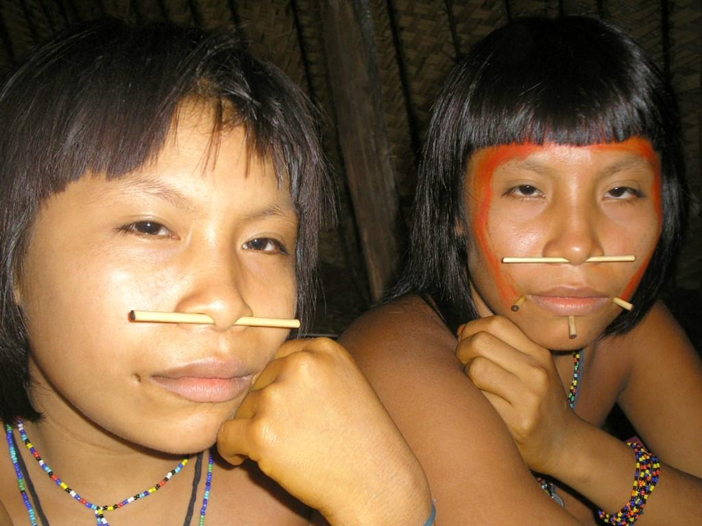 Enfants Guarani de Misiones au Nord-Est Argentine