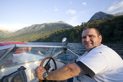Gustavo, pêcheur en Patagonie