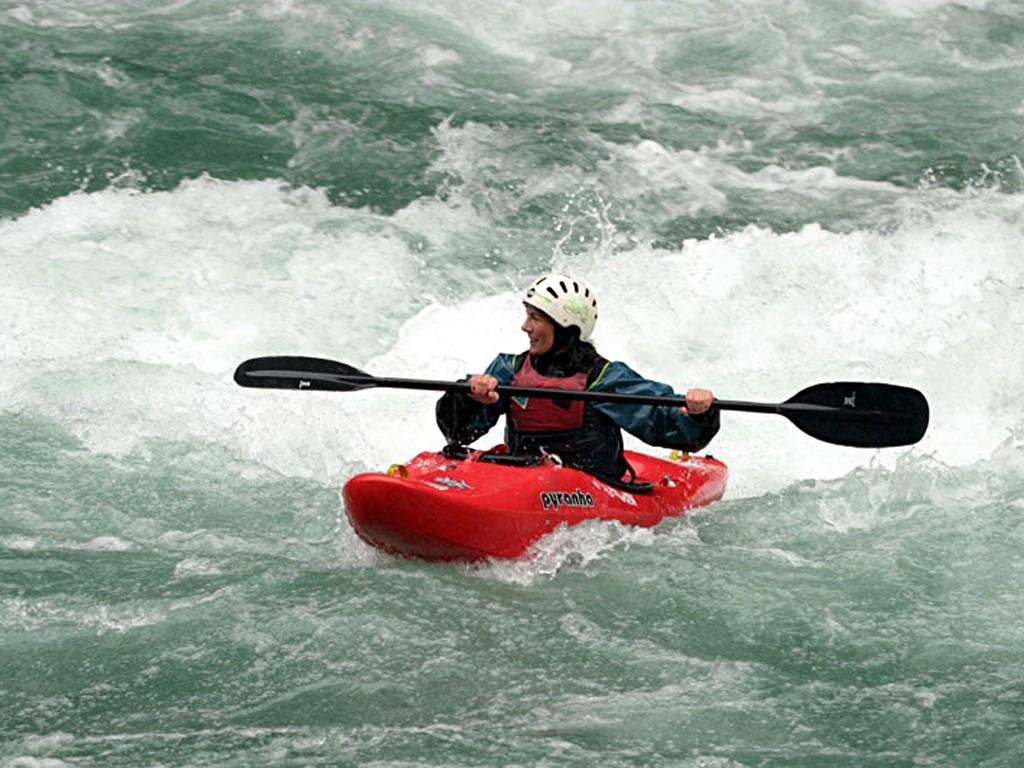 Activité kayak avec Hector en Patagonie