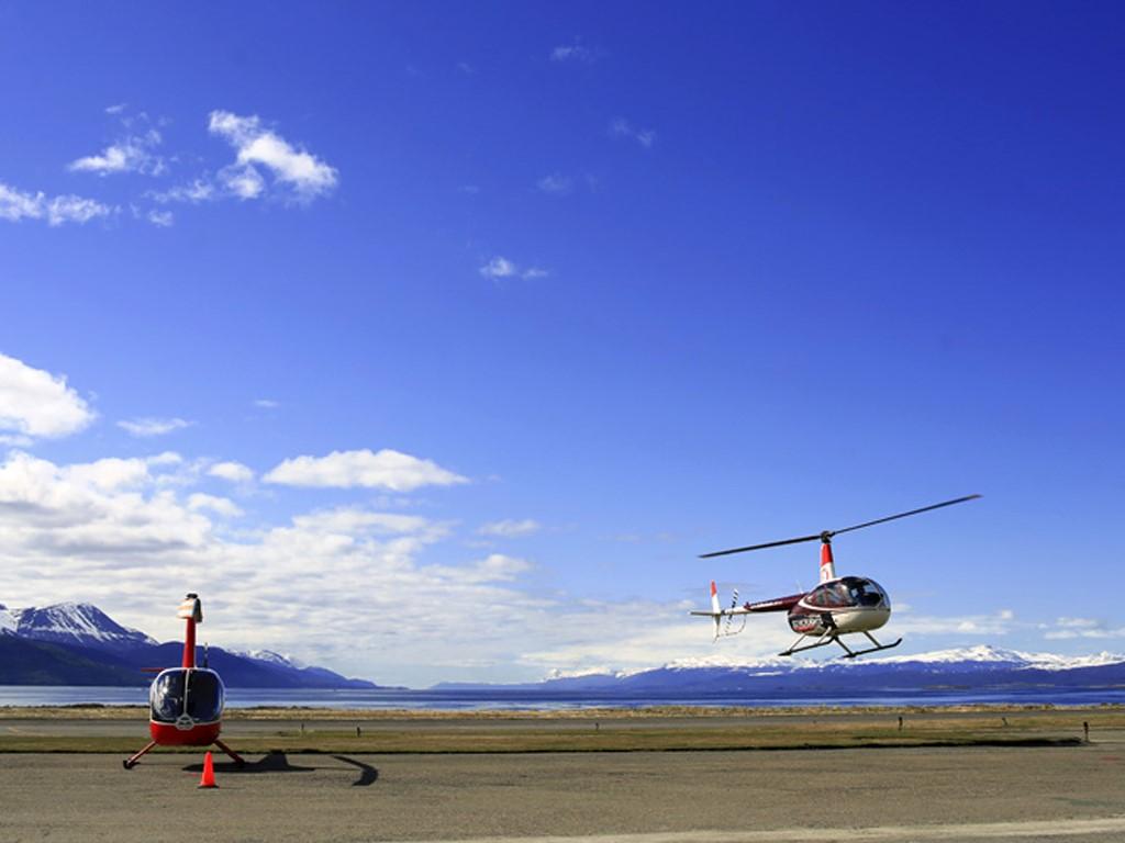 Ushuaïa et Canal de Beagle en hélicoptère