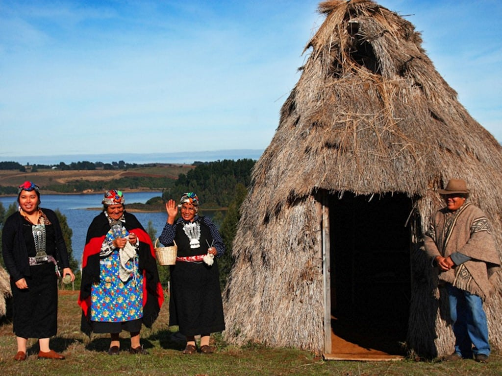 Indios Mapuches de Argentina y Chili