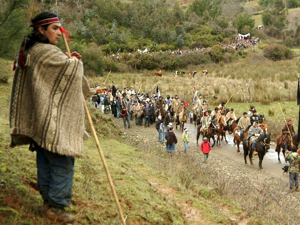 Les communautés Mapuches sont présentes en Argentine et au Chili