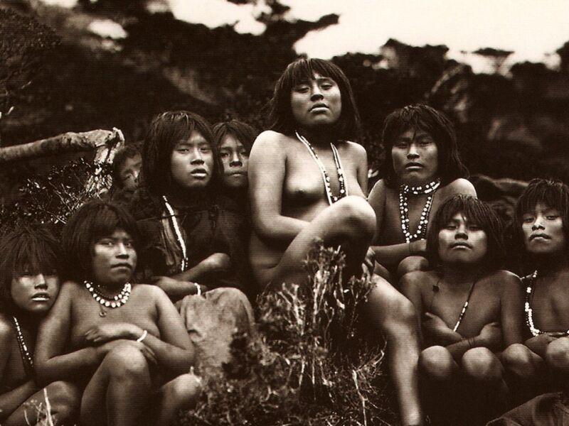 Indiens Yamanas en Terre de Feu