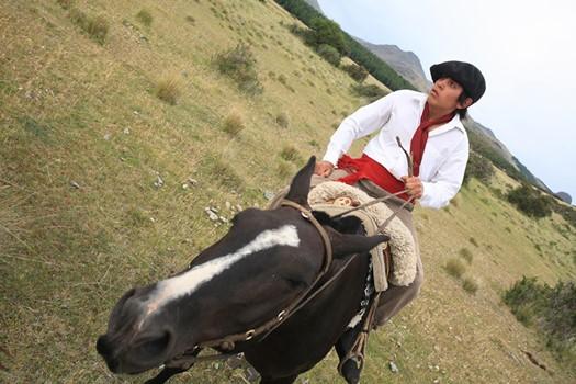 Javier gaucho de Patagonie