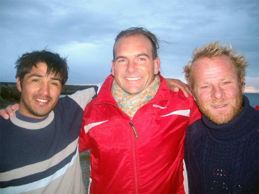 Mes amis Juan et Mario, les pêcheurs de la côte Atlantique Sud