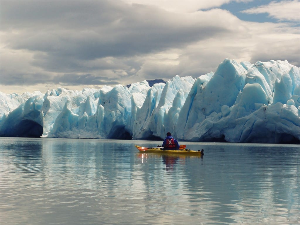 Kayak au Chili, entre glaciers et icebergs